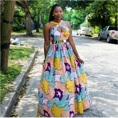African Maxi Dress Styles 2018 : Elegant African Maxi Dresses CollectionLatest Ankara Styles and Aso Ebi Styles 2020 Ankara Maxi Dress, Ankara Dress Styles, African Maxi Dresses, African Fashion Ankara, African Inspired Fashion, African Dresses For Women, African Print Fashion, Africa Fashion, African Attire