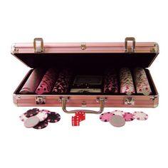 Pink Poker Chips for ladies game night