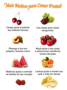 Mais motivos para comer frutas!
