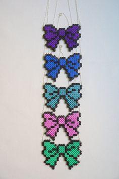Perler beads bows.