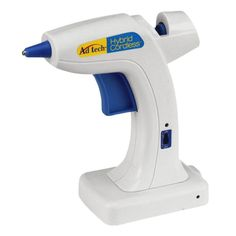<div>This glue gun is the ultimate in convenience. The hybrid has a sturdy base to ensure it won...