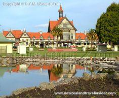 Rotorua Museum in Rotorua on the North Island of New Zealand