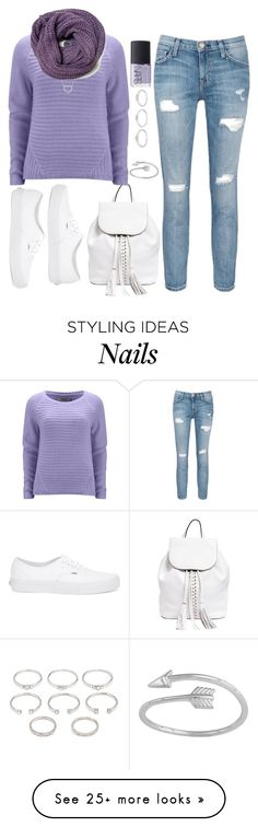 """""""Untitled #3272"""" by natalyasidunova on Polyvore featuring Rebecca Minkoff, ONLY, Current/Elliott, Tiffany & Co., Vans, Forever 21 and NARS Cosmetics"""