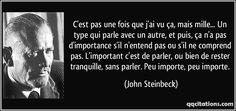 Citations De John Steinbeck sur Pinterest | Citations De Bob Dylan ...