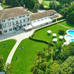 Questa è la splendida location scelta da Raffaella Corsi e Alessandro Domanda per ospitare il prossimo evento di Salotti del Gusto. Dove siamo? Ecco a voi qualche suggerimento: ci troviamo in uno dei distretti enologici e culinari più rappresentativi d'Italia; pensate ad un posto magico tra Venezia e Treviso, immaginate un elegante golf club, un hotel cinque stelle di grande charme…