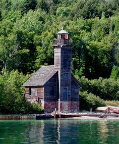 Historic Munising Lighthouse, Michigan