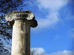 primo piano ionico | Flickr – Condivisione di foto! Sepino, basilica della fine del I secolo a.C.