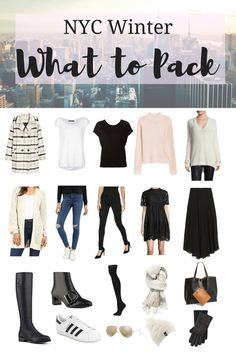 What to Pack for a 1 Week Trip to New York City for Mama, Daddy, + baby! My Sweet Genevieve