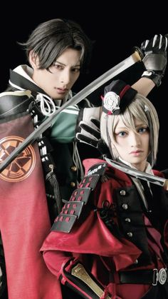 Stage Play, Touken Ranbu, Musicals, Cosplay, Poses, Figure Poses, Musical Theatre