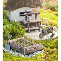 Mini Fairy Patch Accent | Mini Fairy Gardens | Plow & Hearth