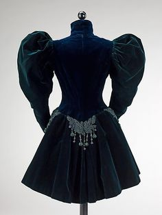 Jacket, Afternoon  Augustine Martin & Company  Designer: Augustine Martin (French) Date: 1895 Culture: French Medium: silk, jet, beads