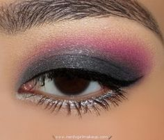 gray and pink for fun  @Emily Eddington  I'm thinking...Wet-N-Wild Coloricon 3 shadow trio in Spoiled Brat
