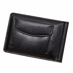 2017 Fashion Wallets Men Short Credit ID Card Cash Holder Slim Coin Purse Leather Purse Solid Men's Bifold Wallet carteras mujer #Affiliate