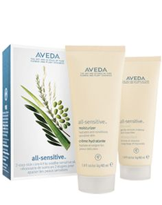 All-Sensitive™ Starter Set - Gentle, aroma-free cleanser and moisturizer Find out more at Aveda.com