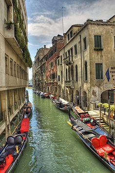 Venice, Italy.  Our tips for 25 places to visit in Italy: http://www.europealacarte.co.uk/blog/2012/01/12/what-to-do-in-italy/