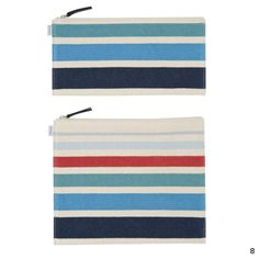 Color palette - nautical blues, white, accent with red