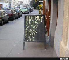 Ich nehme Huhn! :) | Lustige Bilder, Sprüche, Witze, echt lustig