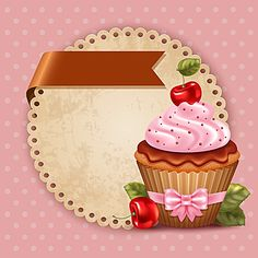 Find cupcakes stock images in HD and millions of other royalty-free stock photos, illustrations and vectors in the Shutterstock collection. Cupcake Illustration, Cupcake Logo, Cupcake Art, Cupcake Drawing, Dessert Logo, Cherry Cupcakes, Cute Cupcakes, Cupcakes Design, Candy