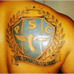 Payxão na Pele!!! Você tem alguma tatuagem relacionada ao Maior do Norte. Envie a foto para nós, que entrará para nossa seleção de imagens e poderá ser publicada na próxima edição da Revista Oficial do Paysandu.  Email: revistapaysandu@gmail.com  Whatsapp: 91 981581810
