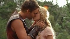 Cara and Leo.  They were in love, so naturally he had to be burned alive.