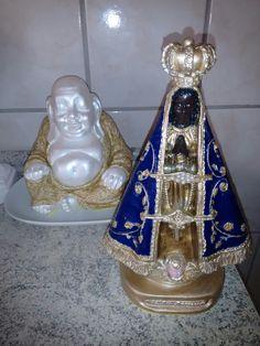 Buda e Nossa Senhora Aparecida❤