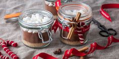 This spiced Christmas hot chocolate recipe kit makes a wonderful gift for those that love a good mug of hot chocolate