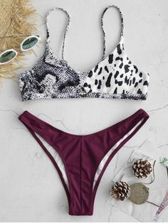 A site with wide selection of trendy fashion style women's clothing, especially swimwear in all kinds which costs at an affordable price. Swimwear Fashion, Bikini Swimwear, Bikini Set, High Waisted Bikini Shorts, Bikini Types, Zaful Bikinis, Swimming Outfit, Vintage Bikini, Cute Bathing Suits
