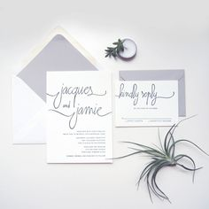 LETTERPRESS SAMPLE    Modern Calligraphy by luckypennypaperie