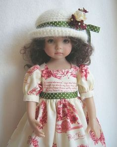 .what is it with dolls....I totally love them and have loved collecting them.   I would love to have this one!