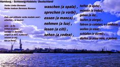 """Mein Blog ist mein Burg"": Verbe Limba Germana Verbe traduse Germana Romana  ..."