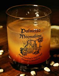 Palmetto Moonrise...  2 oz. Palmetto Moonshine 3 oz. Orange juice 1 tsp grenadine  Moonrise beats a Sunrise any day!