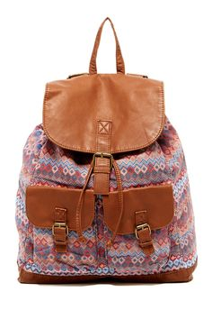 T-Shirt & Jeans Printed Backpack by T-Shirt & Jeans on @nordstrom_rack