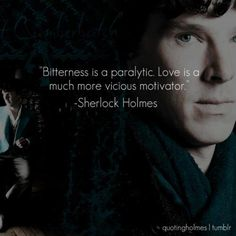 """THIS. This line took my breath away the first time I heard it: BBC's """"Sherlock"""", A Study In Pink, Episode 1, Series 1."""