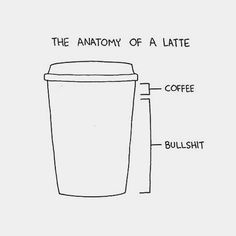 cut the BS- just the coffee please.