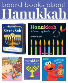 Teach your young child more about #Hanukkah with board books.  This #RaiseaReader blog has suggestions.