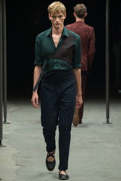 Dries Van Noten Spring 2015 Menswear Collection Slideshow on Style.com