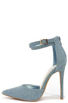 http://www.bonanza.com/listings/Dream-of-Jean-ie-Blue-Denim-Ankle-Strap-Heels-wl/262247892