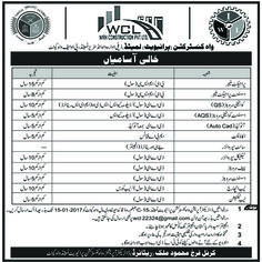 wah construction pvt limited wah cantt jobs