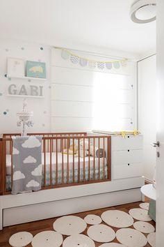 decoração com bolinhas - uauá baby