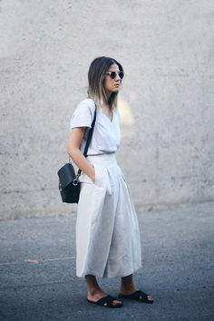 Oak + Fort Culottes, Ancient Greek Sandals