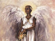 Black Angel Art - Angel - Consuelo Gamboa