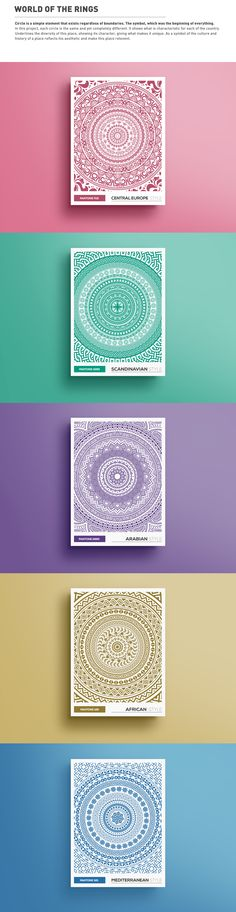 WORLD OF the RINGS on Behance