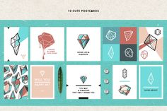 Diamonds are Forever by hellokisdottir on @creativemarket