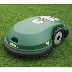 The Robotic Lawnmower - Hammacher Schlemmer