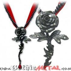 Collar Rose of Passion
