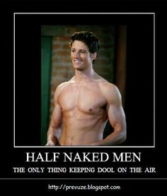 7 Great Shows with Shirtless Guys That We Can't Help but Drool over . Days Of Our Lives, Day Of My Life, Hot Actors, Actors & Actresses, Man Candy Monday, Alison Sweeney, Abc Tv Shows, James Scott, Soap Stars