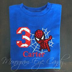 Spiderman Birthday Shirt - Visit to grab an amazing super hero shirt now on sale! Avengers Birthday, Superhero Birthday Party, 4th Birthday Parties, Spiderman Theme, Spiderman Birthday Ideas, Spiderman Images, Spiderman Shirt, Fête Spider Man, Birthday Boy Shirts