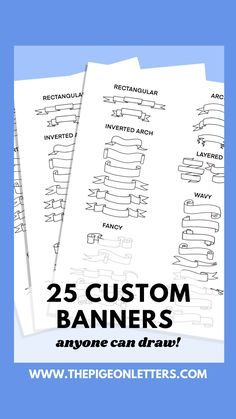 Banners are weirdly intimidating, am I right? Well I'm here to ease your fear! Banners can be so so easy, let this tutorial show you how easy it really is!