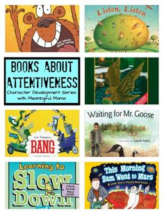 Books About Attentiveness for Kids