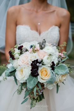 This is what bouquet dreams are made of #cedarwoodweddings An American Fairytale :: Mayra+Kevin, Part 1 | Cedarwood Weddings